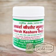 "Кайшор гуггул"" от ""Адарш"" (Kaishore guggul), 40 грамм (110 таблеток)"