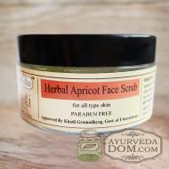"""Скраб для лица """"Кхади Абрикос"""", 50 грамм (Khadi Herbal Apricot Face Scrub)"""