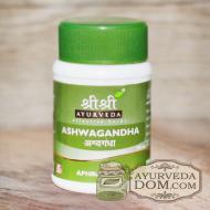 """""""Ашвагандха"""" от """"Шри Шри Таттва"""", (500 мг) 60 табл (Sri Sri Tattva Ashwaganda)"""