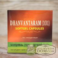 """Дханвантарам 101""  производитель Арья Шала, 100 капсул (AVS Dhanwanaram 101)"