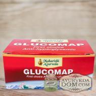 "Глюкомап 100 таб понижает сахар ""Махариши аюрведа (Glucomap Maharishi Ayurveda)"