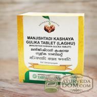 Манджиштади кашая гулика 100 таб от «Вайдьяратнам» (Manjishtadi Vaidyaratnam)