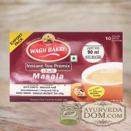 ВАГХ БАКРИ-Растворимый Масала чай 140г(10 пак)/WAGH BAKRI- Masala instant tea 14