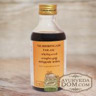 "Масло для волос ""Нилибхрингади Тайлам"" (Брингарадж - кунжут), от ""Арья Вайдья Ша"