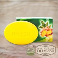 Аюрведическое мыло Одж Ним-Турмерик 100 гр (Oj Neem-Turmeric Soap)