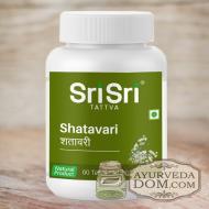 """""""Шатавари"""" от """"Шри Шри Таттва"""", 60 таб (Sri Sri Tattva Shatavari)"""