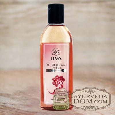 "Масло от выпадения волос ""Брингарадж"" 120 мл ""Жива"" (Bhringaraj Oil JIva)"