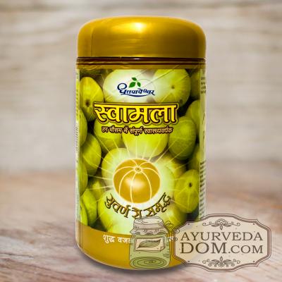 Чаванпраш c золотом Свамала 500 гр Дхутапапешвар (Swamala Gold Dhootapapeshwar)