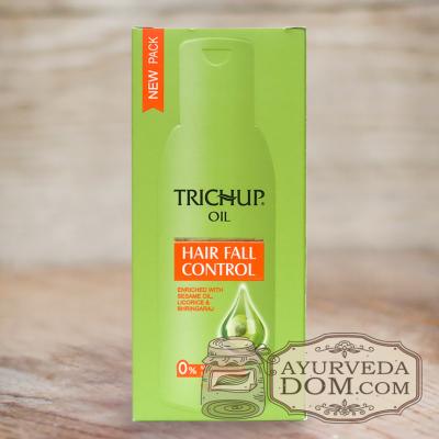 Тричуп масло от выпадения волос 100 мл Васу (Trichup Hair fall control oil Vasu)