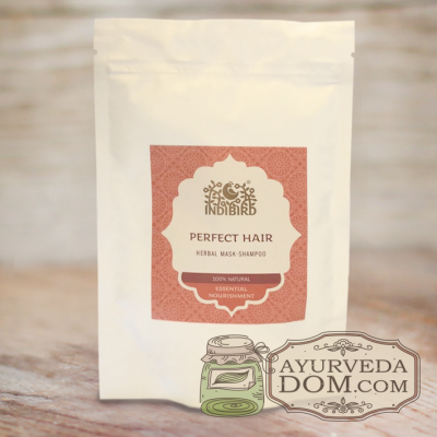 Травяная маска-шампунь Совершенство волос (Perfect Hair Powder) 100 гр