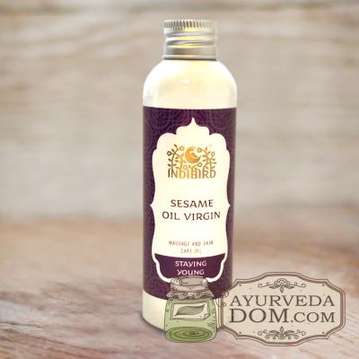 Масло Кунжут холодный отжим (Sesame Oil Virgin) 150 мл
