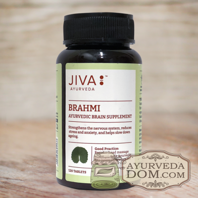 """Брахми"" 120 таб 500мг ""Жива"" (Brahmi Jiva)"