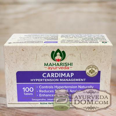 Кардимап 100 таб для здоровья сердца (Cardimap Maharishi Ayurveda)