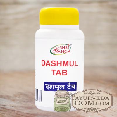 """Дашамула"" 100 таб ""Шри Ганга"" (Dashmul Tab Shri Ganga)"