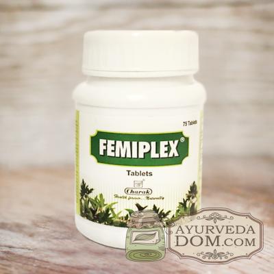 Фемиплекс для женского здоровья, 75 таблеток (Charak Femiplex)