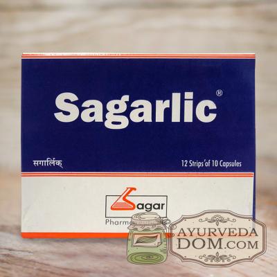 Сагарлик — экстракт чеснока 120 кап 250 мг (Sagarlic Sagar)