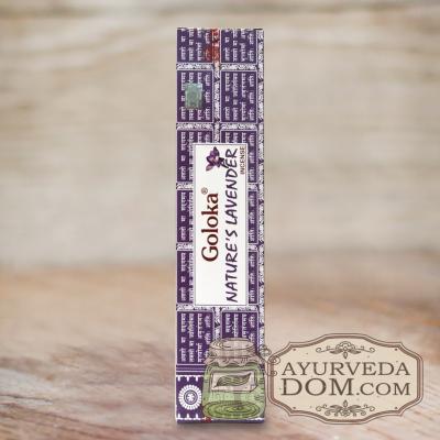 "Благовония ""Голока лаванда"" 15 гр (Goloka Lavender)"