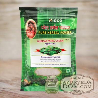 «Гурмар чурна» 50 гр от «Нидко» (Gudmar patra churna Nidco)
