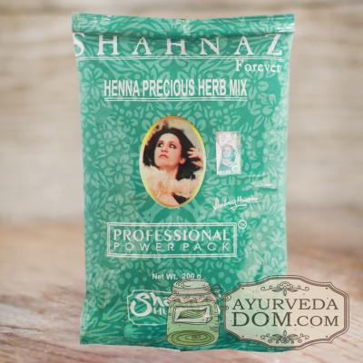 "Хна ""Шахназ Хусейн"" с травами 200 гр (Henna Shahnaz Husain Herb Mix)"