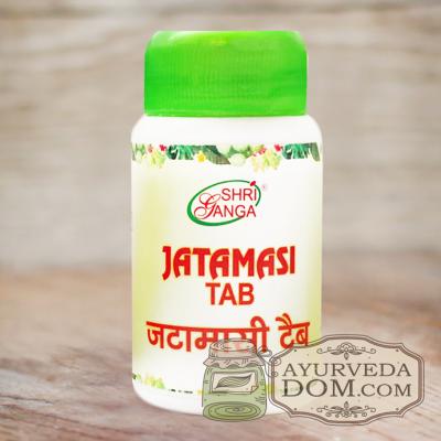 """Джатаманси"" от ""Шри Ганга"", 60 таб (Jatamasi Shri ganga)"