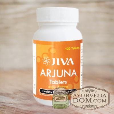 """""""Арджуна"""" кардиотоник 120 таб 500 mg """"Жива"""" (Arjuna Jiva)"""