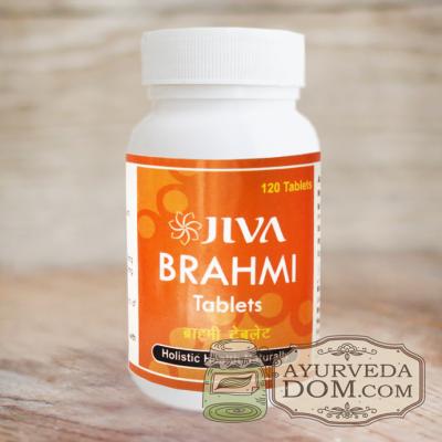 """Брахми"" 120 таб 500мл ""Жива"" (Brahmi Jiva)"
