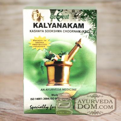 «Кальянакам» кашая чурна 100гр производитель «Эверест» (Kalyanakam Everest)