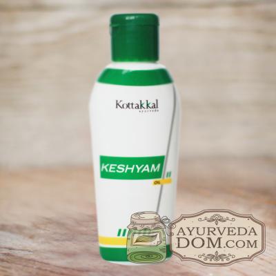 "Масло для волос ""Кешъям"" от компании ""Арья Вайдья Шала"" (Keshyam AVS Kottakkal),"