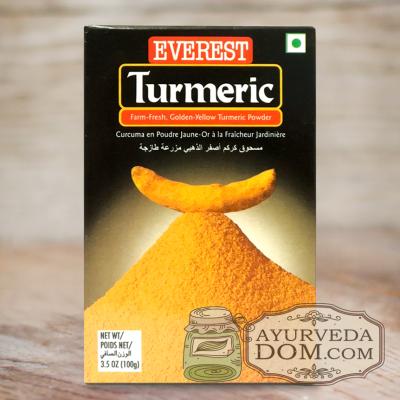 """Куркума молотая 100 гр """"Эверест"""" (Turmeric Powder Everest)"""