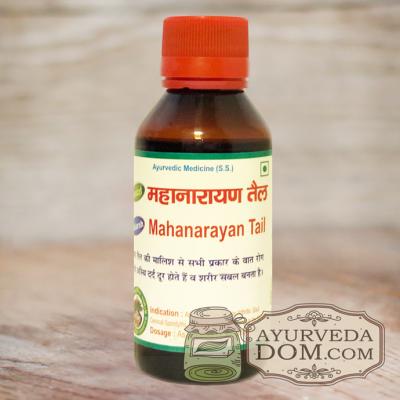 """""""Маханараяна тайлам"""" от """"Адарш"""", 100 мл (Adarsh Maha Narayan Oil)"""