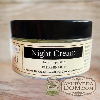 """Ночной крем для лица """"Кхади"""", 50 грамм (Khadi Night Cream)"""