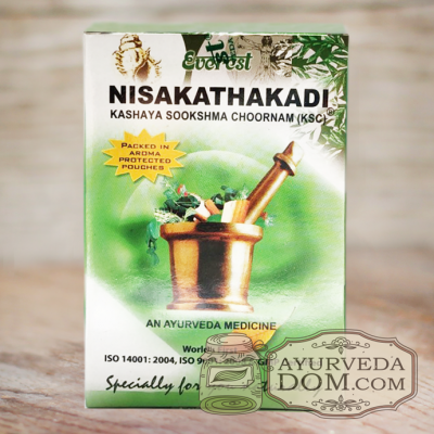 «Нишакатхакади» кашаям чурна 100гр производитель «Эверест» (Nisakathakadi Everes