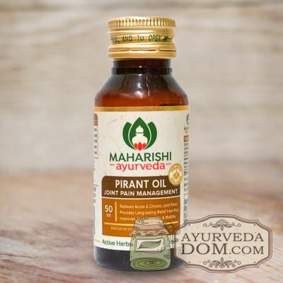 "Пирант масло для суставов ""Махариши аюрведа"" 50 мл (Pirant Tail Maharishi)"