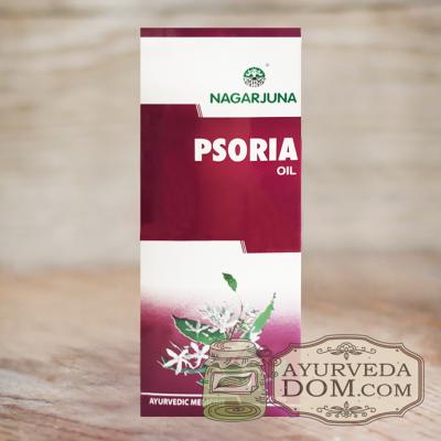 """Масло """"Псория"""" от """"Нагаржуна"""", 100 мл (Psoria Oil Nagarjuna)"""