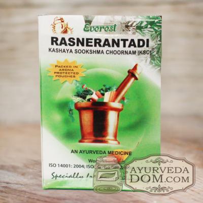 «Раснаэрандади кашая чурна» производитель «Эверест», 100 грамм (Rasnerantadi Eve