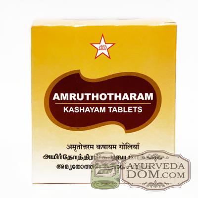 «Амрутотарам кашая» 100 таб 1000 мг (Amruthotharam SKM Siddha)