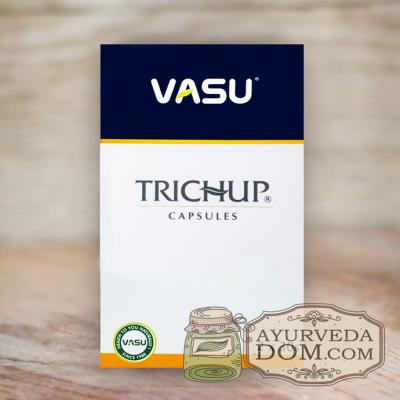 """Капсулы для роста волос """"Тричуп Васу"""" 60 шт (Trichup Vasu)"""