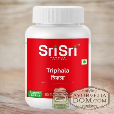 """""""Трипхала"""" от """"Шри Шри Таттва"""", 60 табл (Sri Sri Tattva Triphala)"""