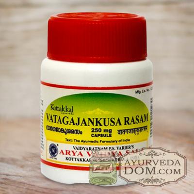 """""""Ватагаджанкуса расам"""" от нервно-мышечных заболеваний 30 кап (Vatagajankusa Rasa"""