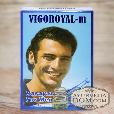 Вигороял-М 10 таб для мужского либидо (Vigoroyal-М Maharishi) 10 таб