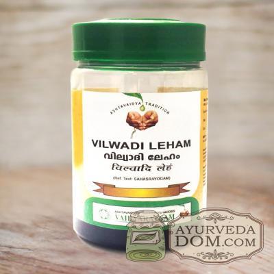 """Вильвади лехьям 250гр от """"Вайдьяратнам"""" (Vaidyaratnam Vilwadi Leham)"""